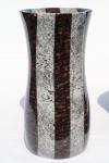 elegante Vase mit Streifen