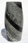 Original Waldviertel Vase mit diagonalen Streifen
